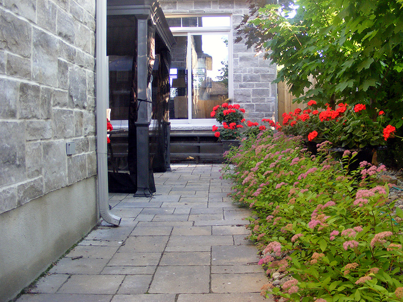 Stone Walkway: May 30, 2014